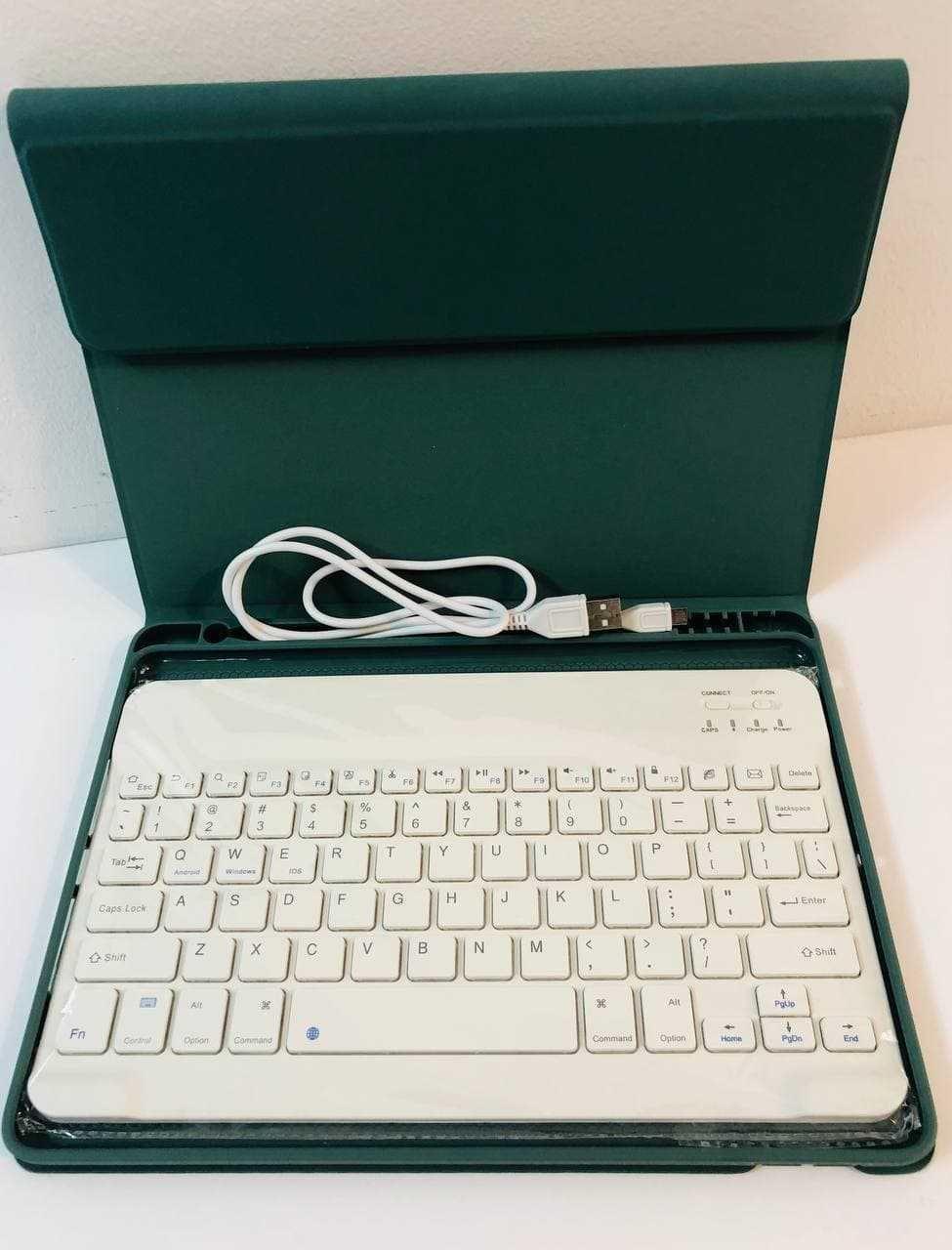 Чехол для ipad 10 + bluetooth клавиатура