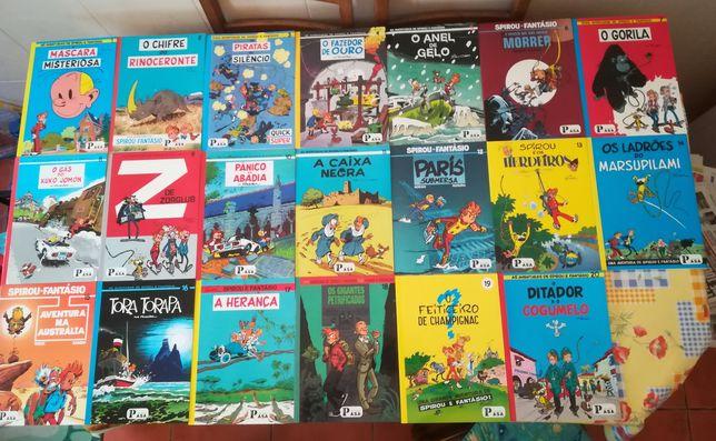 20 Livros Spirou (coleção Asa completa)