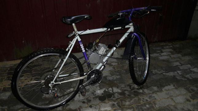 Велодвигун велосипед з двигуном 80куб