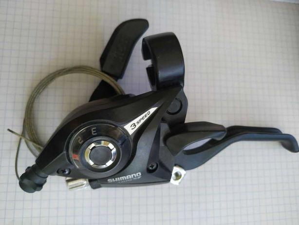 Klamkamonetka 3speed Shimano ST -EF51-L