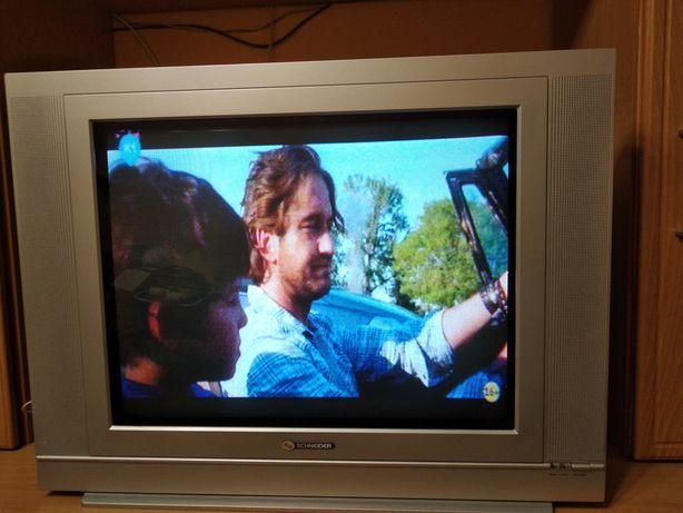 Телевізор Schneider 51см по діагоналі + пульт рідний (хороший стан)