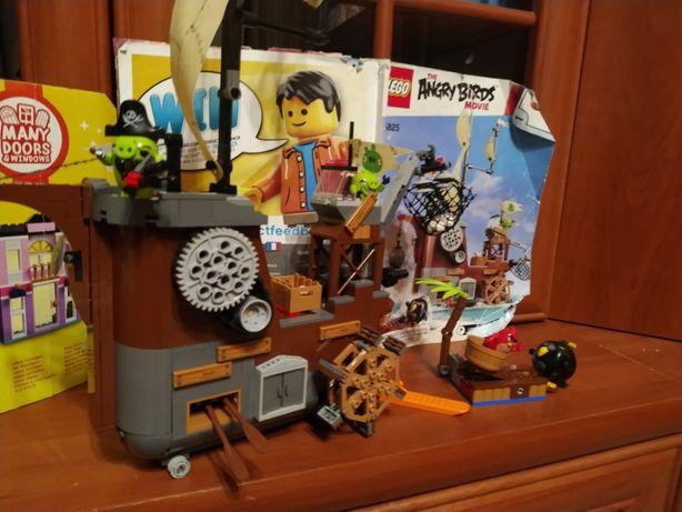 Lego Angry Birds Корабль лего оригинал