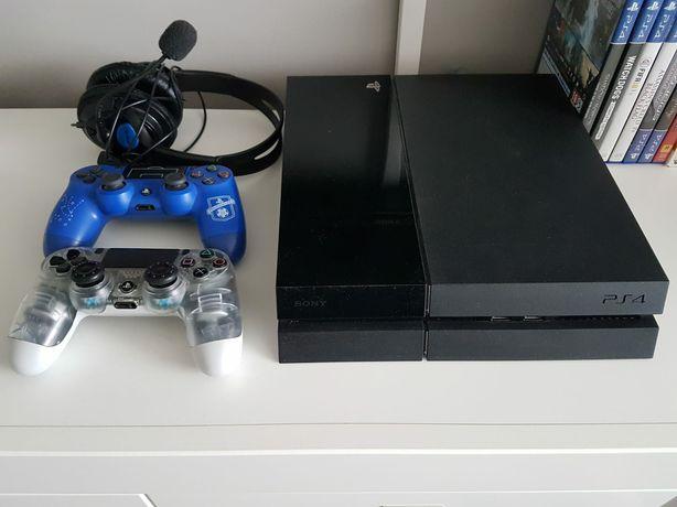 Playstation 4 + 15 gier