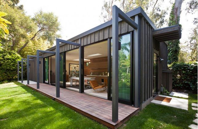 Casas modernas com base em contentores, novidade em portugal
