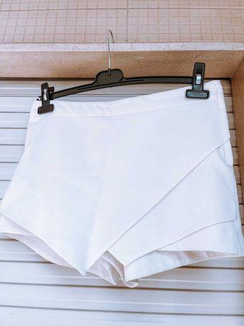 Calção saia brancos L