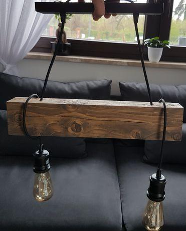 Lampa wisząca retro loft żarówki edisona