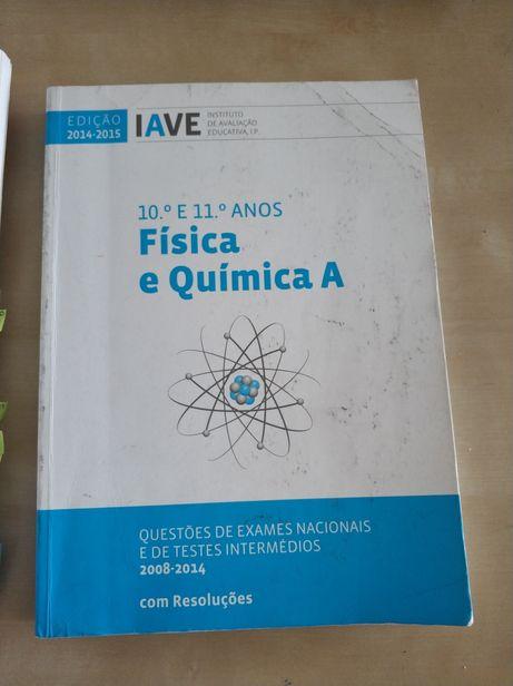 Livro de exames e TI Física e Química