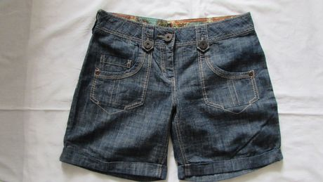 Spodnie krótkie szorty NEXT 38 jeans nowe