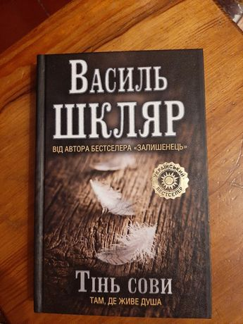 """""""Тінь сови"""" Василь Шкляр"""