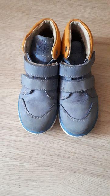 Кожаные деми ботинки детские унисекс