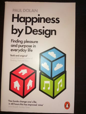 Happiness by Design Paul Dolan English Angielski