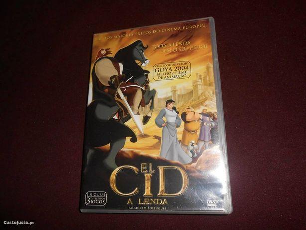 DVD El Cid A Lenda DOBRADO Português ENTREGA IMEDIAT Filme de animação