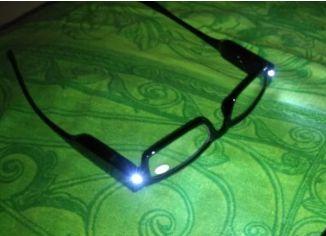Очень удобные очки с подсветкой