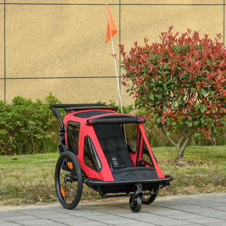 NOWA Przyczepa przyczepka rowerowa dla dzieci jogger