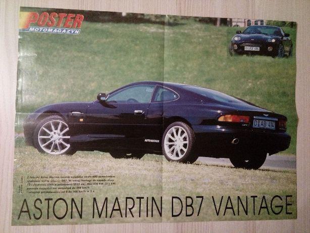 Plakat Poster Aston Martin DB7 Vantage/Kenworth K100 40,5cm x 55,5cm