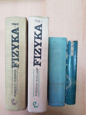 Książki matematyka, fizyka