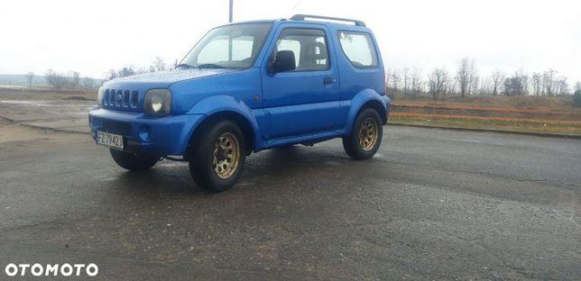 Suzuki Jimny 4x4 1,3 benzyna bez rdzy 1 właściciel