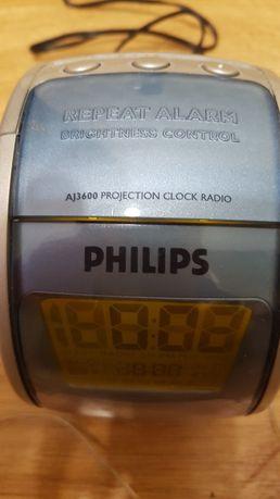 Radio budzik,  Philips z projektorem
