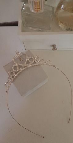 Korona diadem opaska ślubna ozdoba do włosów