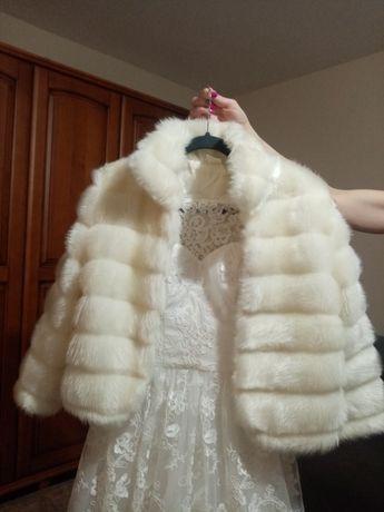 Futerko do sukni ślubnej, rozmiar 42