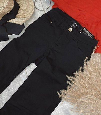 Штани чорні скіні H&M джинси чорні xs
