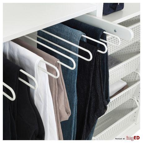 Wysuwany wieszak na spodnie IKEA Komplement Pax 75x58