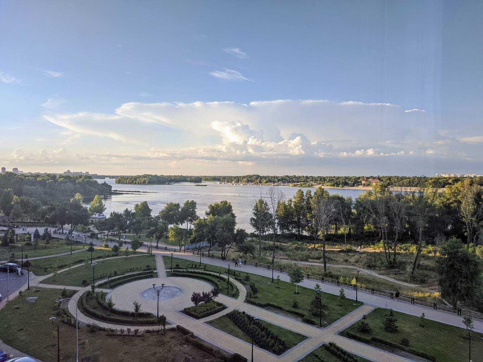 ЖК Паркстоун,видовая 2-к квартира на просп.Героев Сталинграда,парк