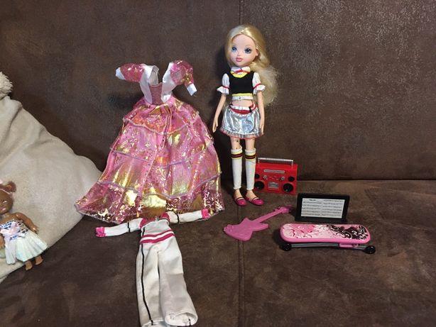 Lalka typu Barbie- Highschool Musical z akcesoriami