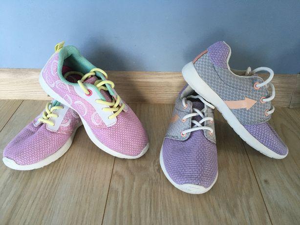 Letnie buciki dziewczęce, adidasy - 2 pary
