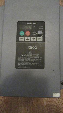 Falownik HITACHI X200 /7,5 kW. Używany, sprawny