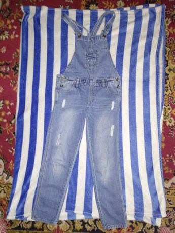 Комбінезон джинсовий для дівчинки