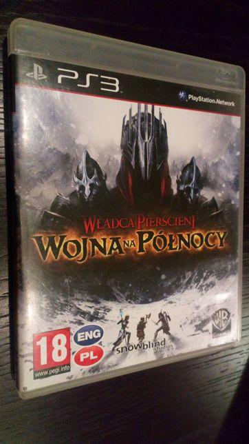 Gra PS3 Władca Pierścieni Wojna na Północy PL PlayStation 3 Unikat Hit