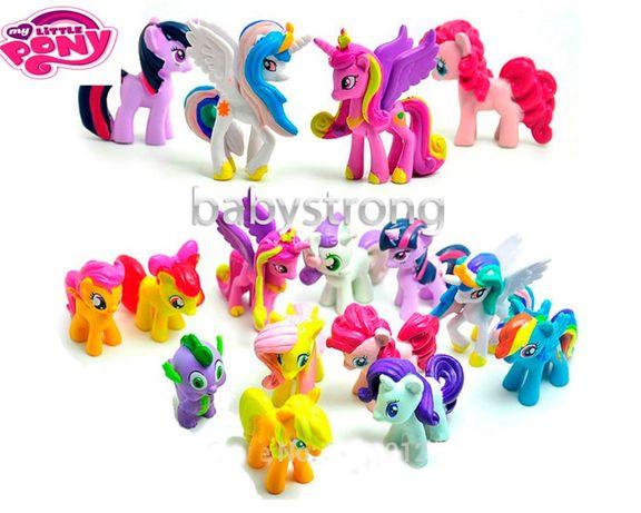 Набор фигурок Май Литл Пони 12 шт My Little Pony 4-5 СМ Игрушка
