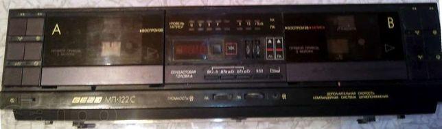 Магнитофон-приставка 2-х кассетный ВЕГА-122С СТЕРЕО
