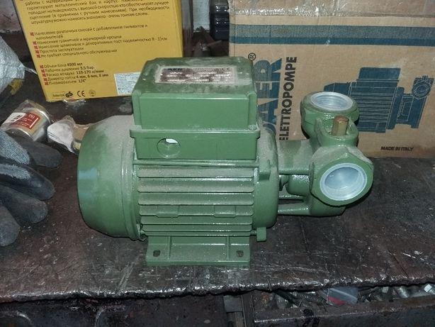 Saer KF1 вихревой насос, 1 фазный 230V. Италия.