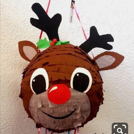 Piniata święta dla dzieci Mikołaj