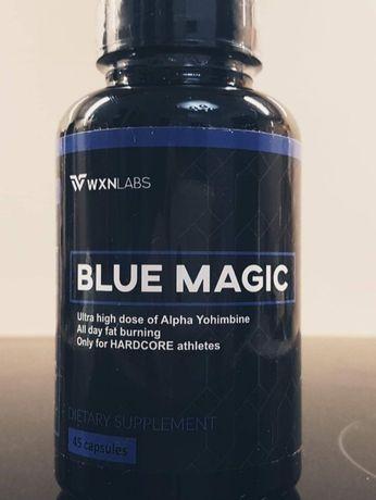 Nowe Mocne Spalacze Tłuszczu Blue Magic Skull Burner ECA Hardcore
