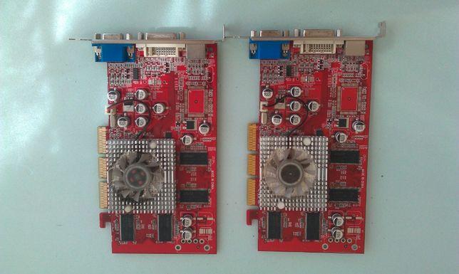 Видеокарта RADEON 9250 в наличии 2шт. I 128bit I DDR128m