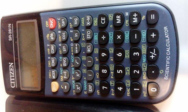 kalkulator naukowy CITIzEN SR281N