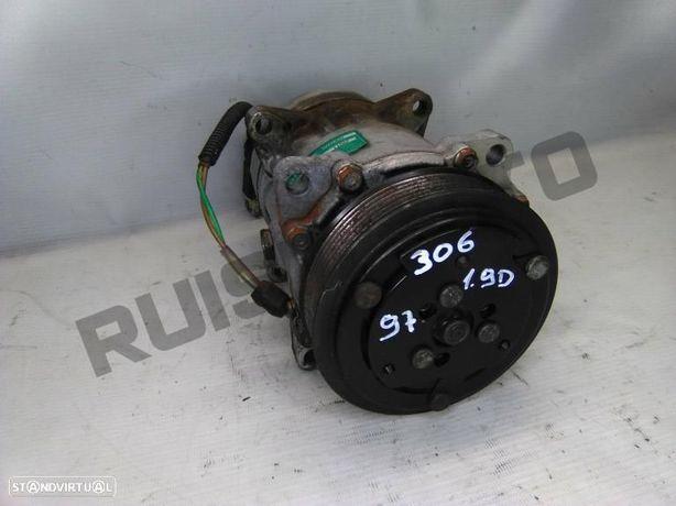 Compressor De Ar Condicionado Peugeot 306 Hatchback (7a, 7c, N