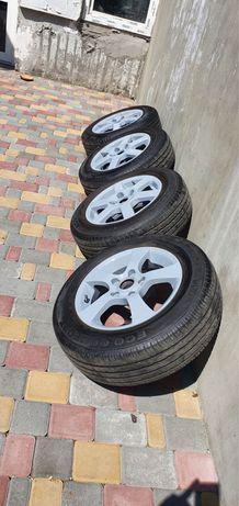 Продам колеса (диски 5 114.3 r15) с летней резиной