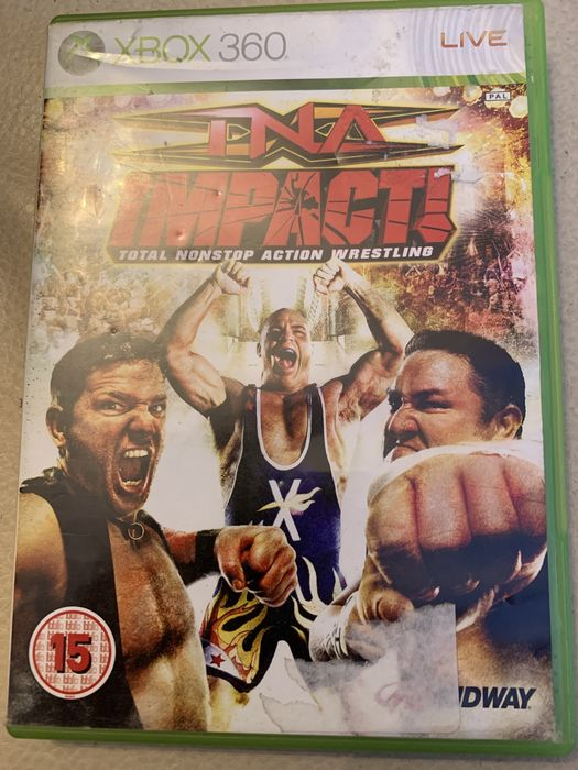 Gry xbox 360 INA impact total nonstop action wrestling.            wre Katowice - image 1