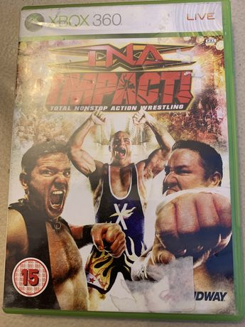 Gry xbox 360 INA impact total nonstop action wrestling.            wre