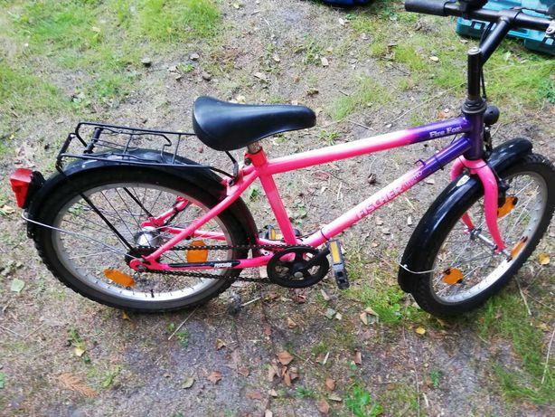 Rower dla dziecka z przerzutkami w torpedzie