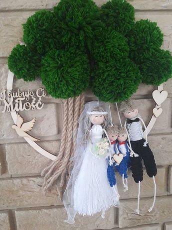W dniu ślubu makrama