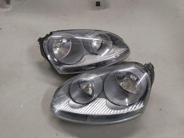 Lampa reflektor volkswagen Golf 5 prawa lewa Europa ciemny !