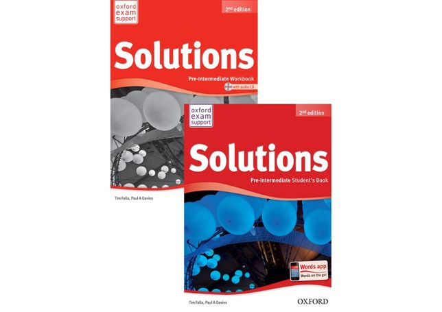 Solutions Pre-Intermediate (2-nd edition)
