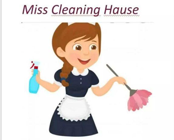Profissional da Limpeza Doméstica  é serviços check in checkout
