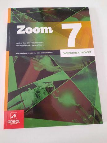 Zoom 7 - Físico-Química - 7.º Ano - Caderno de atividades