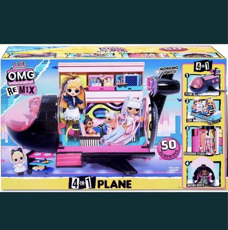 Lol plane omg самолет для кукол лол омг Америка